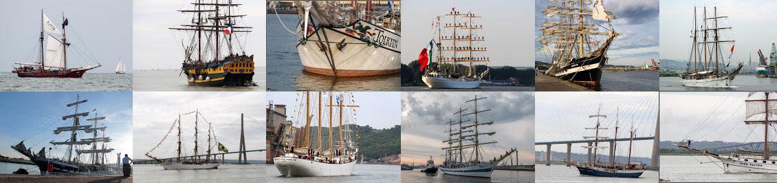 Liste et position des bateaux et voiliers attendus pour l'Armada 2019