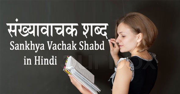 Sankhya Vachak Shabd in Hindi