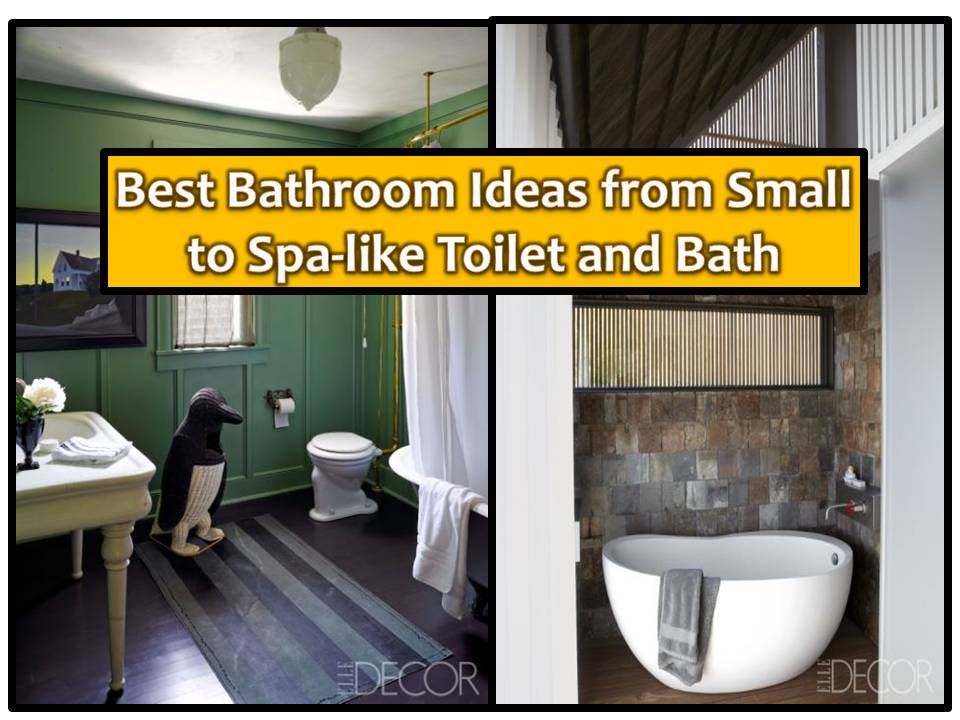 70 best bathroom ideas from small to spa like bathrooms for Best bathrooms 4 u