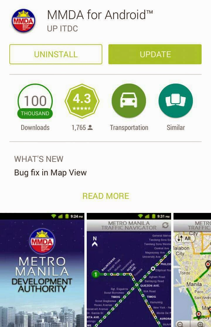 MMDA app for Android finally got an update
