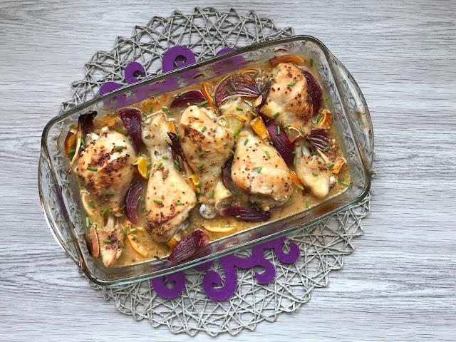 pollo a la mandarina receta