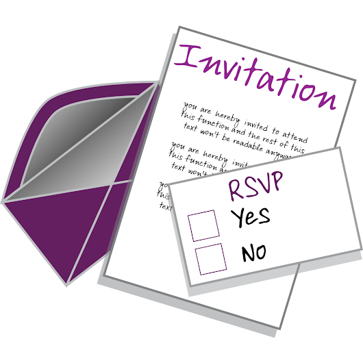 Why You Should RSVP