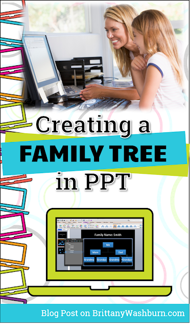How do you teach PowerPoint to your students? What kinds of templates have you used to create a family tree?