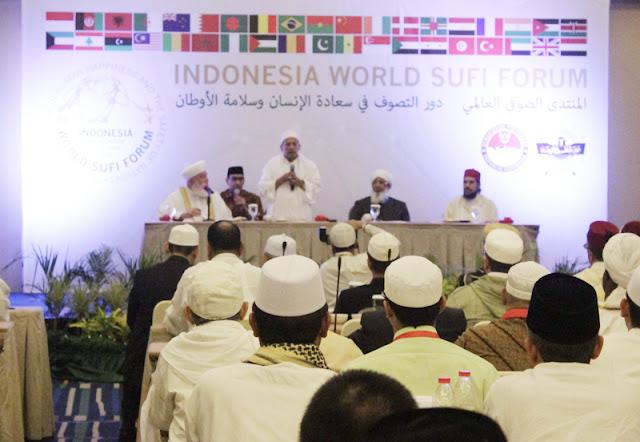 Habib Luthfi bin Yahya Dipilih sebagai Pimpinan Forum Sufi Dunia