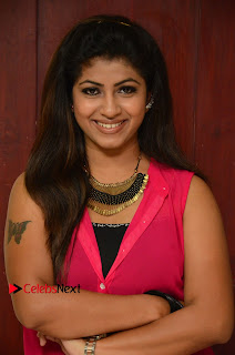 Actress Geethanjali Pictures in Pink Dress at Avanthika Movie Opening 0001