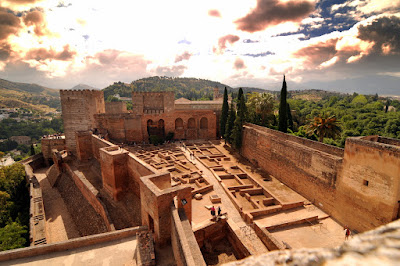 Houses of first Christians to occupy the Alhambra in 1492