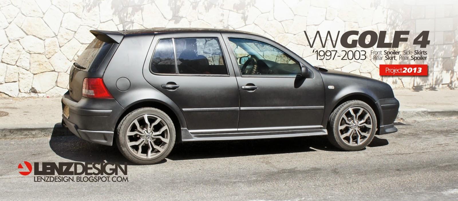 Vw Golf 4 Tuning Lenzdesign שיפורים חיצוניים לרכב Best