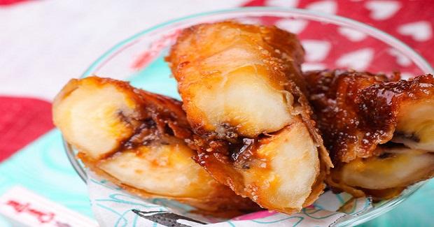 Easy Chocnut Turon Recipe