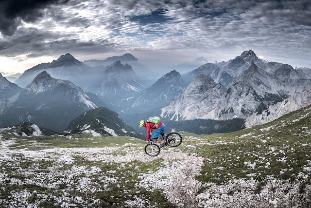 Singletrail MTB Tour Dolomiten Sas dla Para