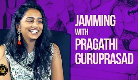 Jamming with Singer Pragathi Guruprasad