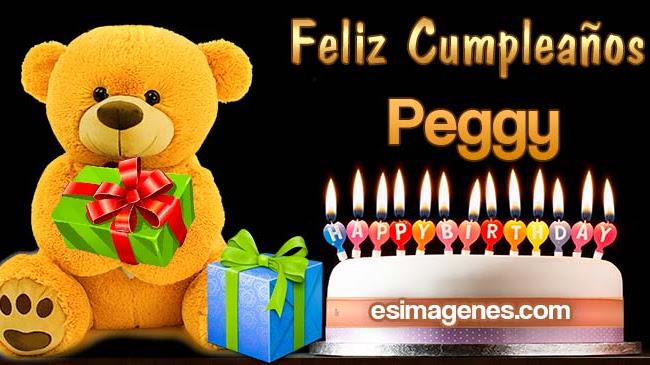 Feliz cumpleaños Peggy