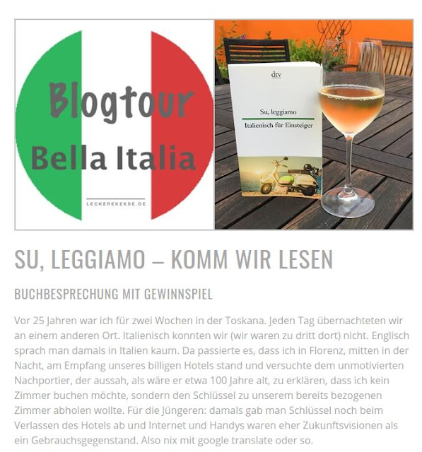 Blogtour #BellaItalia - leckere Kekse