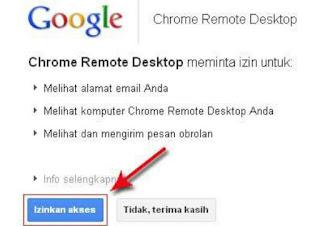 Cara Menggunakan Remote Desktop Google Chrome