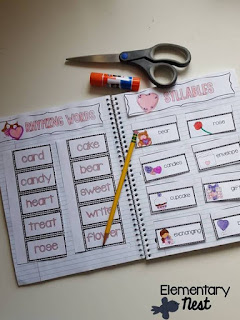 February Interactive Notebook- February Activities and FREEBIES- activities for primary students- February reading, math, writing, social studies and more! Valentine's Day, Presidents Day, Black History Month, Dental Health Month