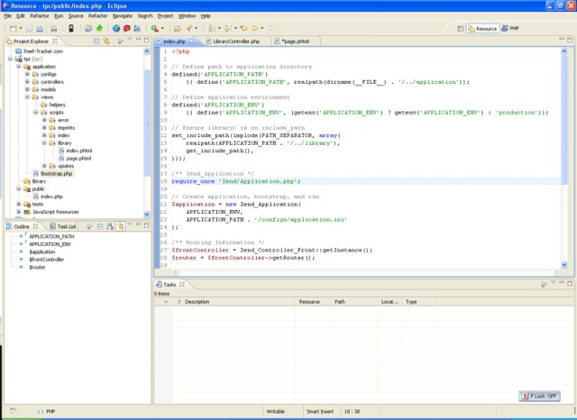 Easyeclipse for php windows 7