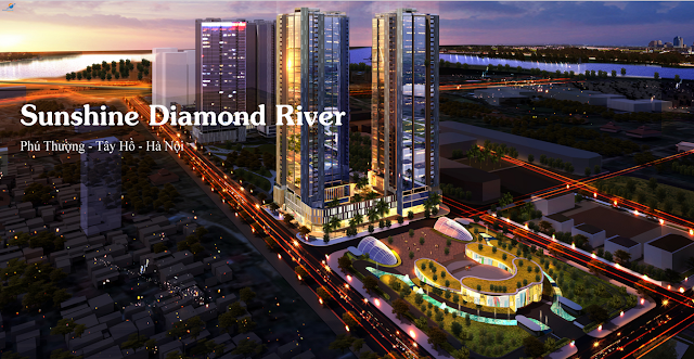 Phối cảnh Sunshine Diamond River