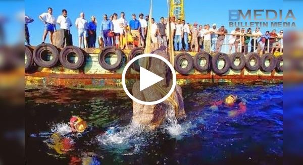 Saksikan Penemuan Jasad FIRAUN Yang Tenggelam Di Laut Merah!