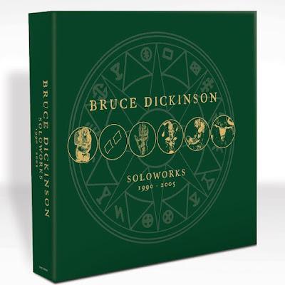 Resultado de imagem para Álbuns solo de Bruce Dickinson são relançados em vinil