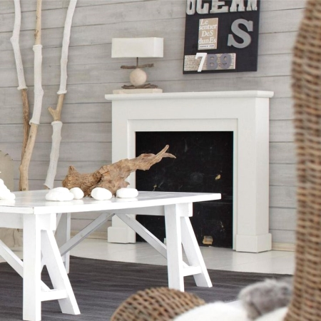 French driftwood decor