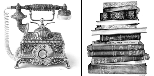 00-Emily-Copeland-Vintage-and-Retro-Objects-in-Photo-Realistic-Drawings-www-designstack-co