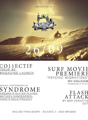 The Lodge Surf Night Brugge - Premiere Psychic Migrations Volcom Surf Movie