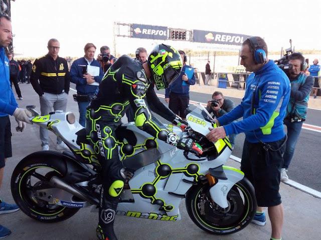 Suzuki akan buatkan paket motor yang sesuai dengan gaya balap Iannone