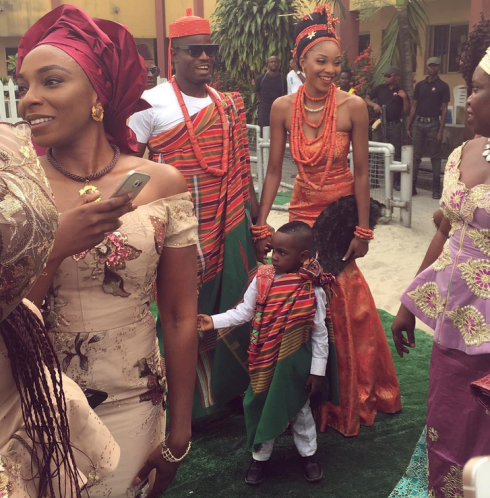 Photos from  Emmanuel Echiejile's wedding
