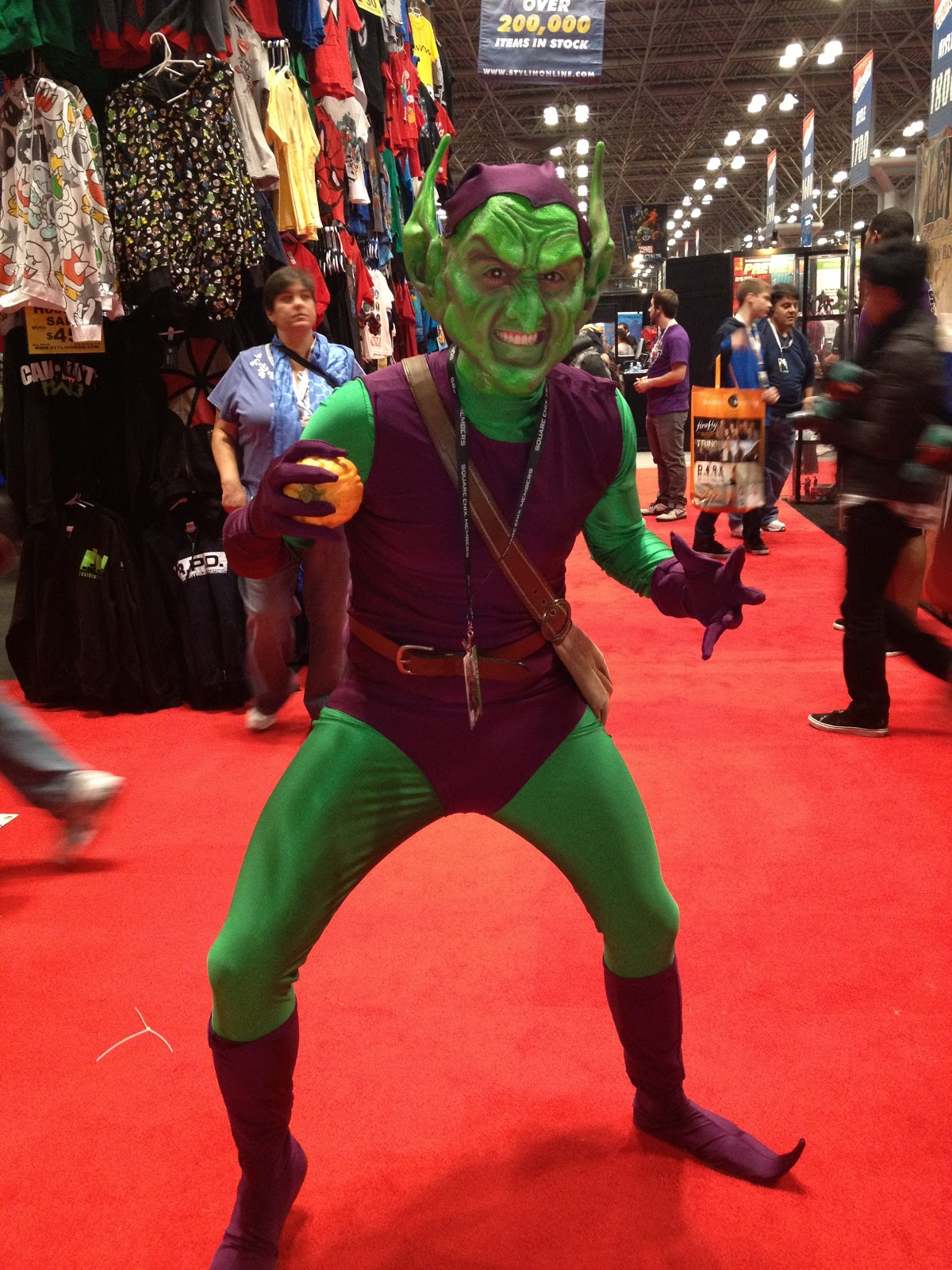 Tamsin Silver: New York Comic Con 2012 - Part One Gumby And Pokey
