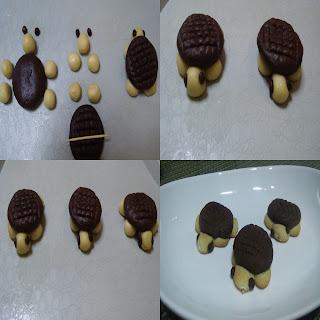 kaplumbağa kurabiye çeşitleri yapılışı