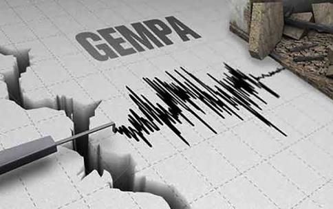 Warga Bogor digemparkan oleh adanya gempa berkekuatan 6.4 Skala Richter
