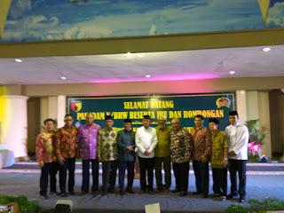 Pertemuan Pangdam V/Brw Bersama Forpimda Kota Kediri