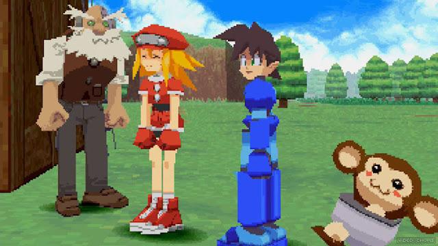 Megaman Legends screenshot 2