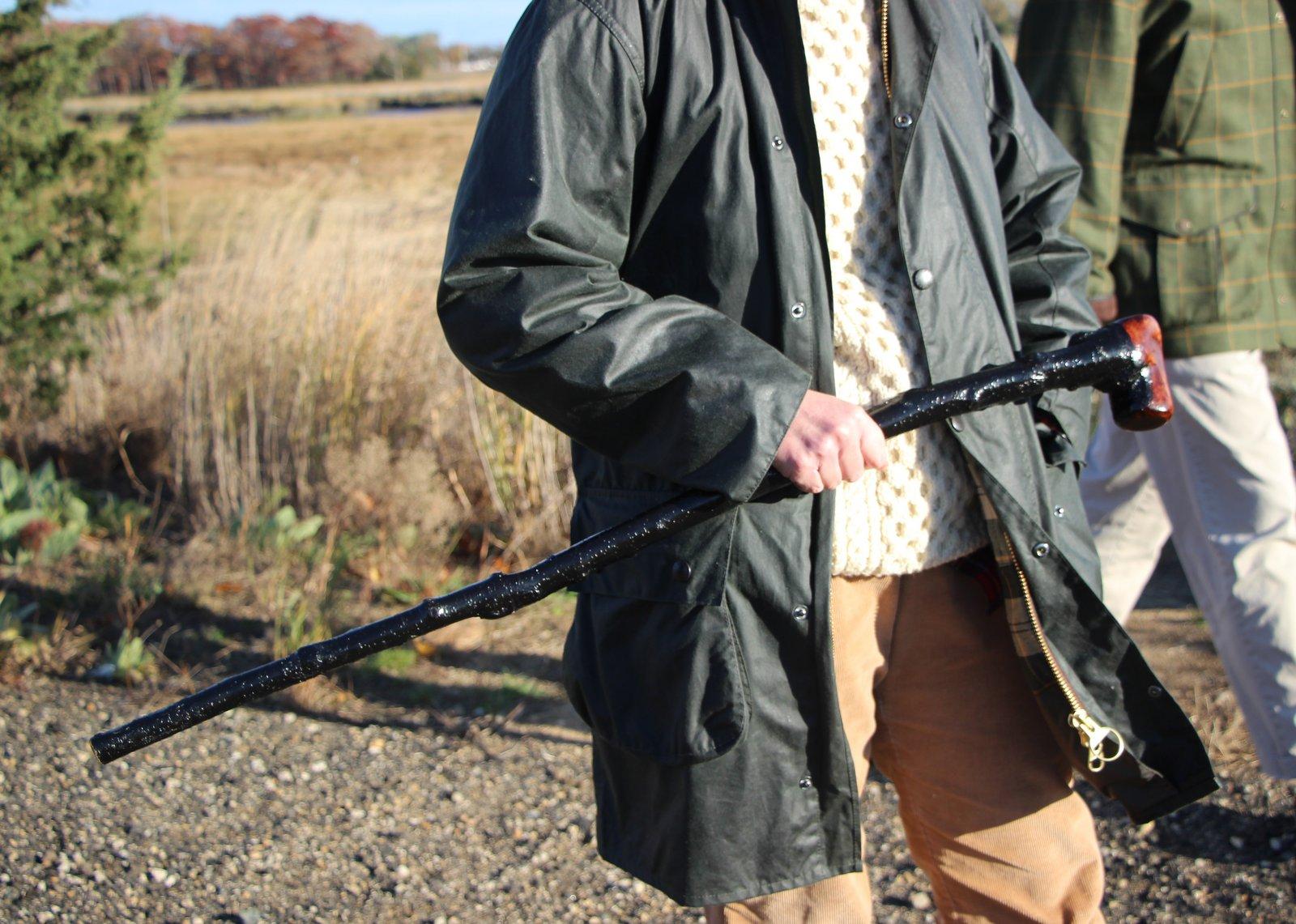 Salt Water New England: The Irish Blackthorn Walking Stick