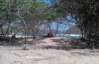Camping Ground di Pantai Teluk Asmara