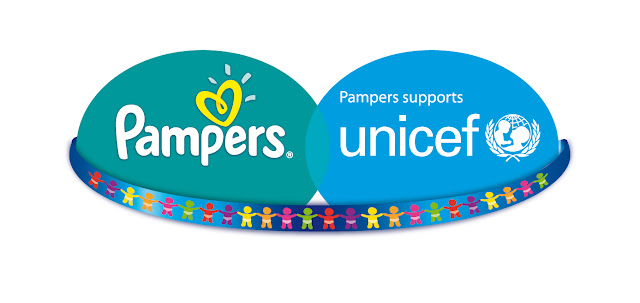 Pampers Unicef Logo BAdge