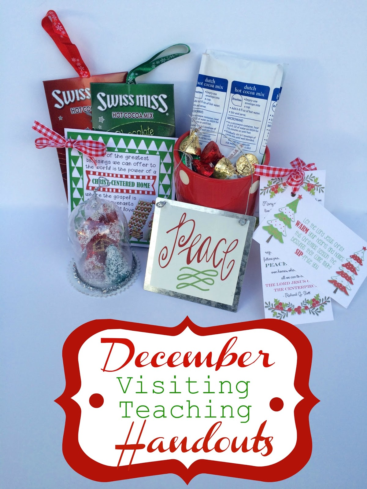 Marci Coombs: December Visiting Teaching Handouts.