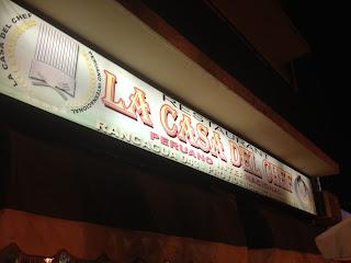 La Casa del Chef, sabor peruano