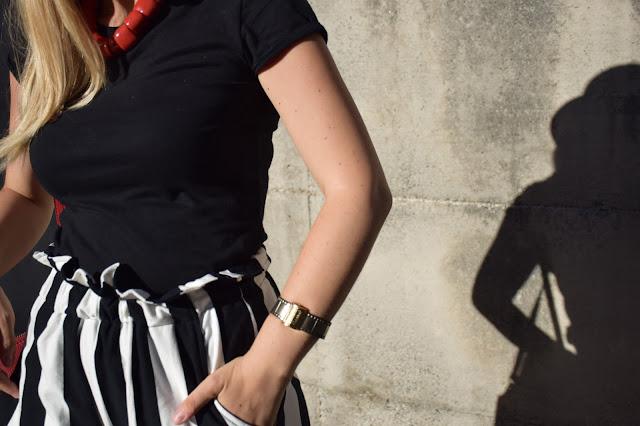 bracciale il rullino il rullino bracelet outfit agosto 2016 mariafelicia magno fashionbl felym fashion blog italiani fashion blogger italiane blog di moda italiani outfit estivi