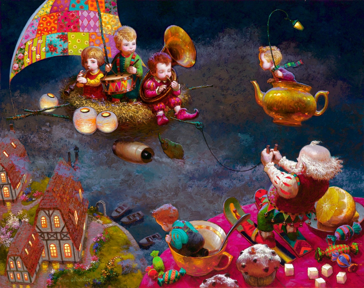 09-No-Name-Victor-Nizovtsev-Daydreaming-with-Fantasy-Oil-Paintings-www-designstack-co