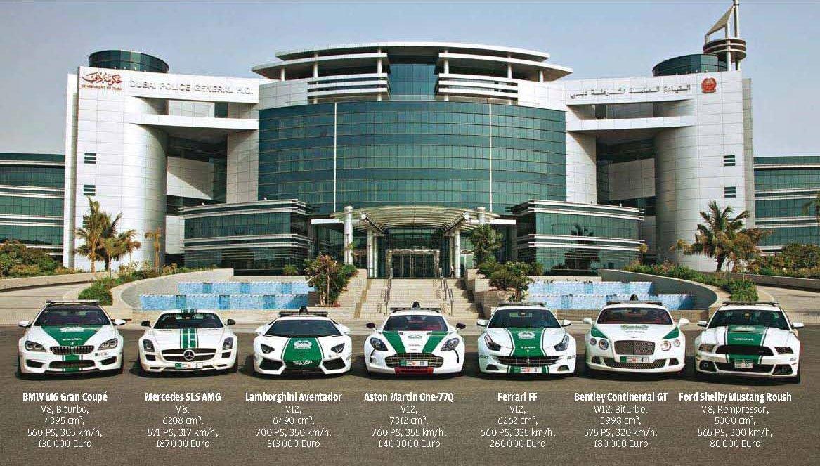 Rất nhiều người khao khát được vào biên chế của cảnh sát Dubai