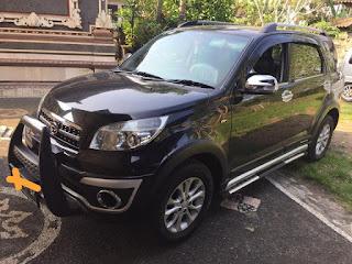 Dijual mobil TERIOS 2013 hitam metik harga Rp.183 Juta