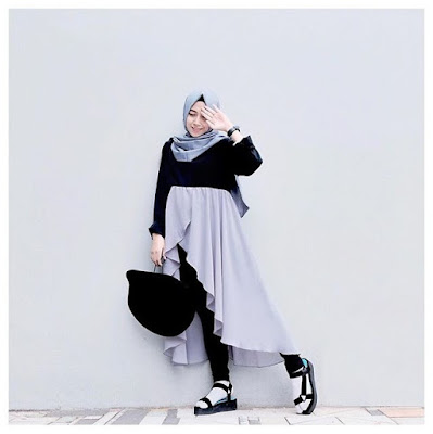 model fashion hijab casual remaja modern