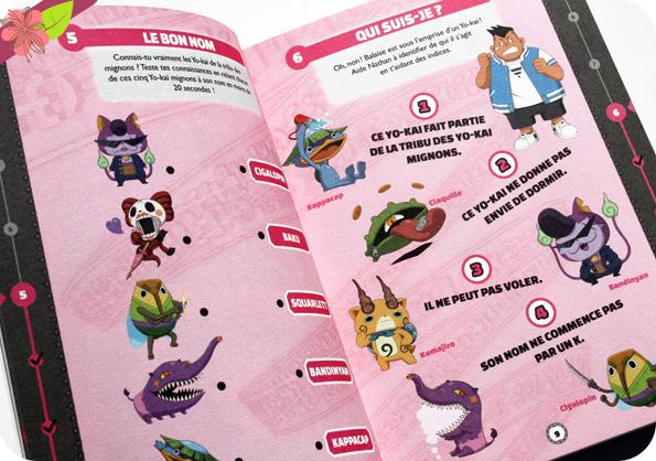 Yo-kai Watch - 100 défis - éditions Hachette Jeunesse