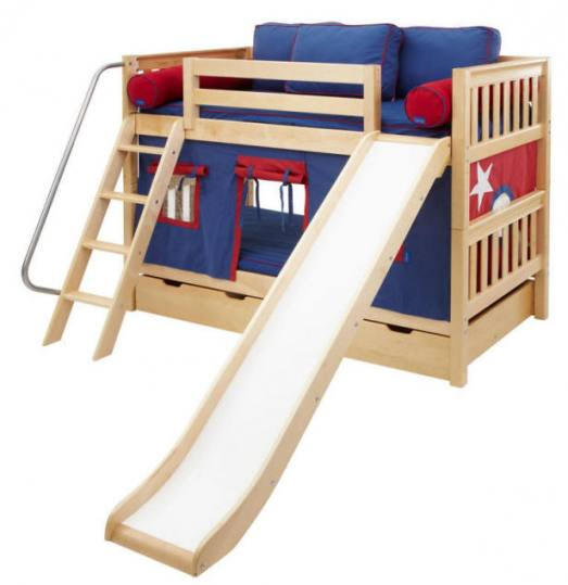 12 Awesome Living Room Designs: 25 Awesome Double Deck Bed For Kids Rooms