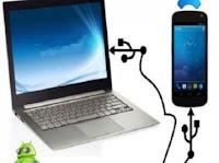 Cara Mudah Setting Handphone Sebagai Modem di PC dan Laptop