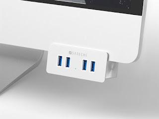 Make Life Simpler - Clamp on 4 Additional USB 3.0 Ports