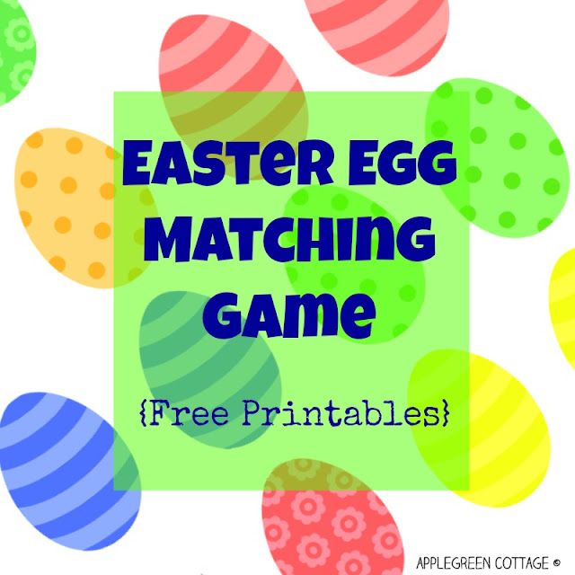 A free Easter printable to enjoy with your kids!
