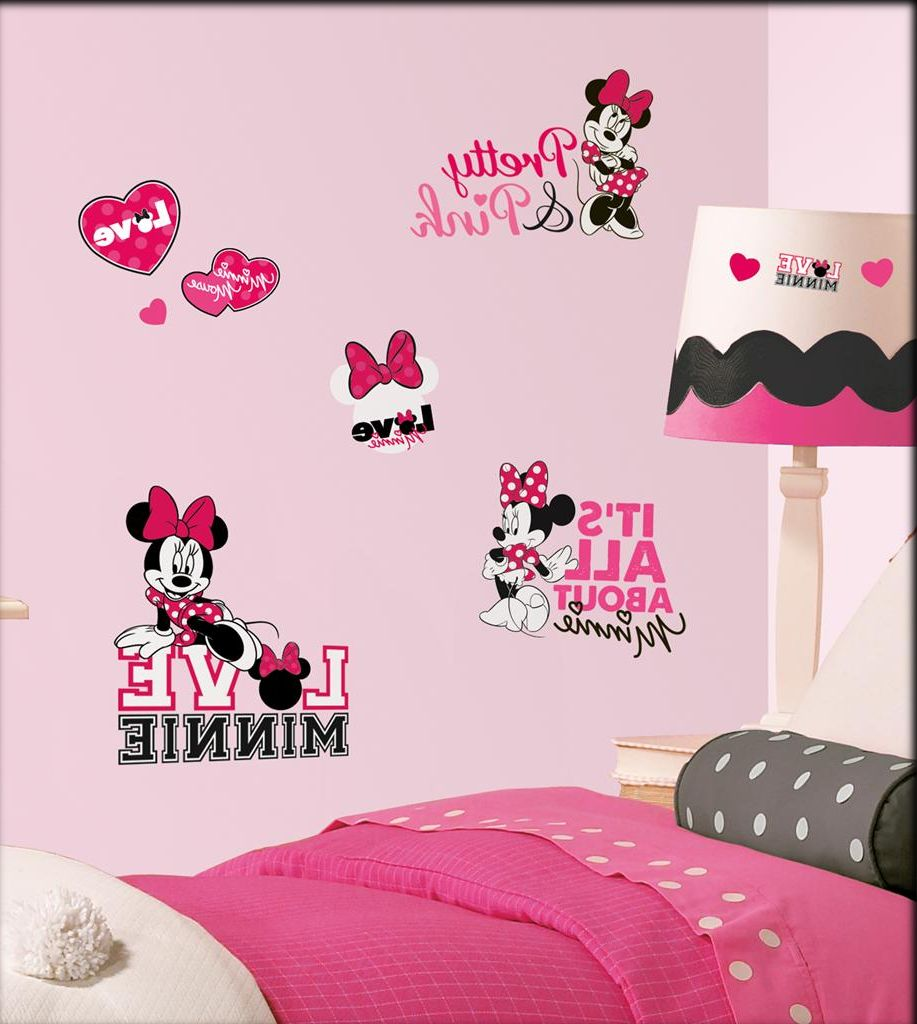 Minnie Mouse Decorations For Bedroom Minnie Mouse Bedroom Decor Wowicunet