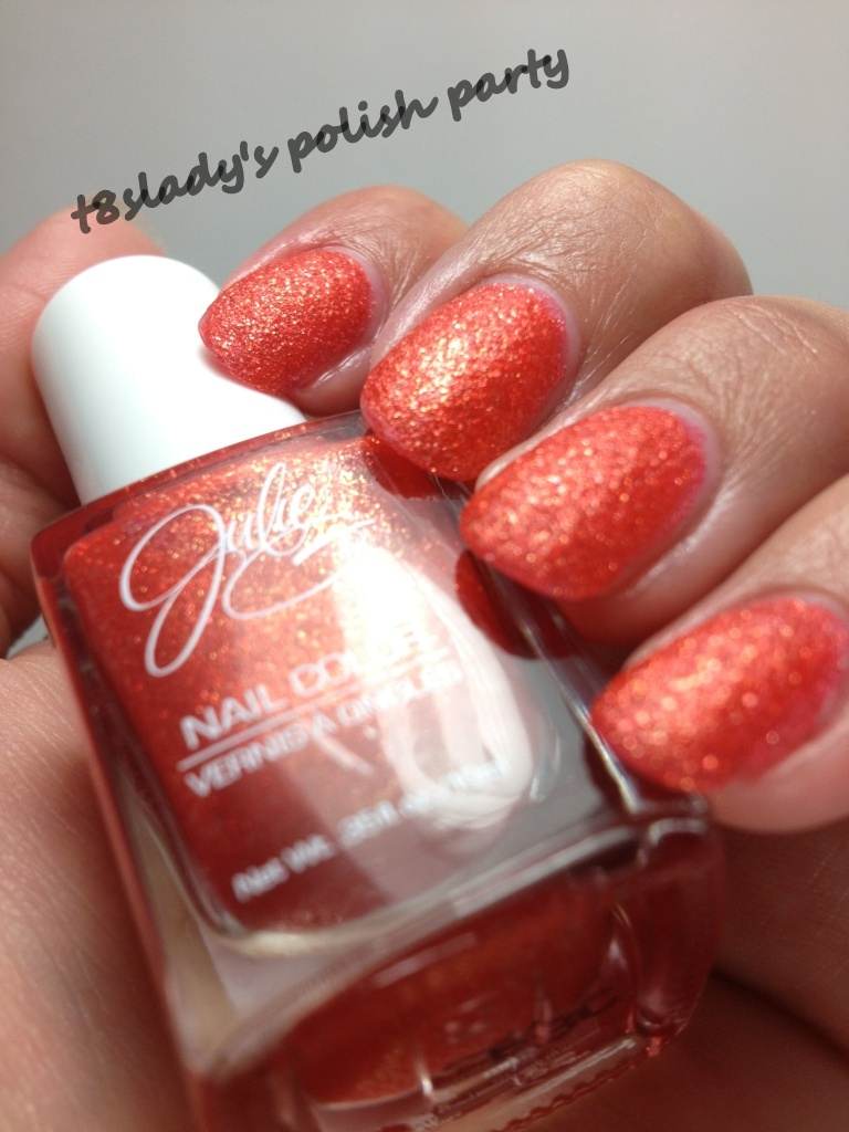 T8slady S Polish Party Julie G Gumdrops Collection Textured Nail Polish Review