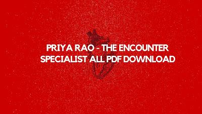 Priya Rao - The Encounter Specialist sex comics free download on choosystory
